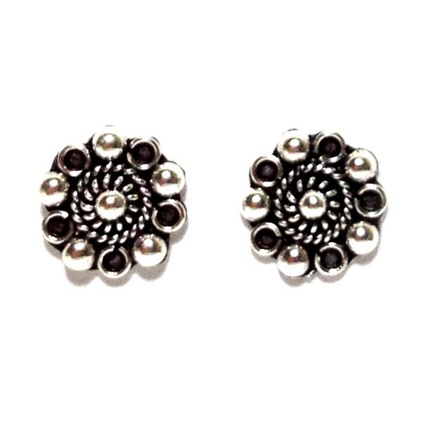 HPSilver: Silver Stud Earrings (emm-er-003)