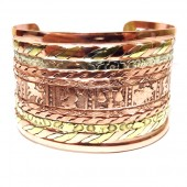 HPSilver: Copper Cuff Bracelet (oli-br-0001)