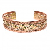 HPSilver: Copper Cuff Bracelet (oli-br-0006)