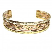 HPSilver: Copper Cuff Bracelet (oli-br-0007)