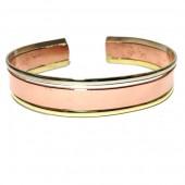 HPSilver: Copper Cuff Bracelet (oli-br-0012)