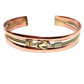 HPSilver: Copper Cuff Bracelet (oli-br-0016)