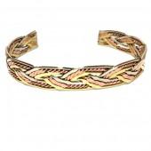 HPSilver: Copper Cuff Bracelet (oli-br-0024)