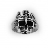 HPSilver, LLC : Sterling Silver Skull Ring cha-rg-104