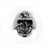 HPSilver, LLC : Sterling Silver Skull Ring cha-rg-109