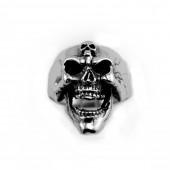 HPSilver, LLC : Sterling Silver Skull Ring cha-rg-110