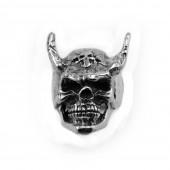 HPSilver, LLC : Sterling Silver Skull Ring cha-rg-111