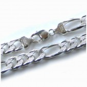 Silver Figaro Chain 10mm