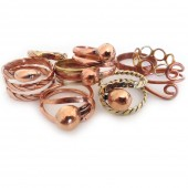 HPSilver, LLC : Mix Copper Ring (CPR-RG-100) 25 Pack