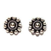 HPSilver: Silver Stud Earrings (emm-er-001)