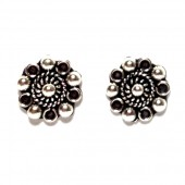 HPSilver: Silver Stud Earrings (emm-er-003)