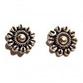 HPSilver: Silver Stud Earrings (emm-er-006)