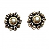 HPSilver: Silver Stud Earrings (emm-er-010)