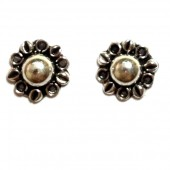 HPSilver: Silver Stud Earrings (emm-er-011)