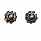 HPSilver: Silver Stud Earrings (emm-er-012)