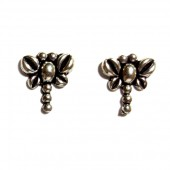 HPSilver: Silver Stud Earrings (emm-er-014)