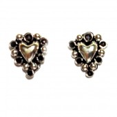 HPSilver: Silver Stud Earrings (emm-er-017)