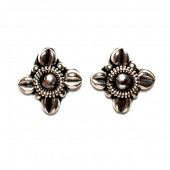 HPSilver: Silver Stud Earrings (emm-er-024)