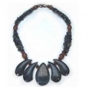 Lapis Lazuli & Copper Necklace (HPS-NC-001)
