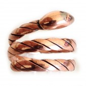 HPSilver, LLC : Copper Snake Ring (ISA-RG-002) 10 Pack