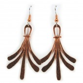 HPSilver: Copper Earrings (lor-er-009)