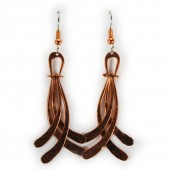 HPSilver: Copper Earrings (lor-er-010)
