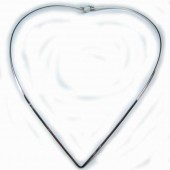"HPSilver: Sterling Silver ""V"" w/ Clasp Collar (mos-cl-0008)"